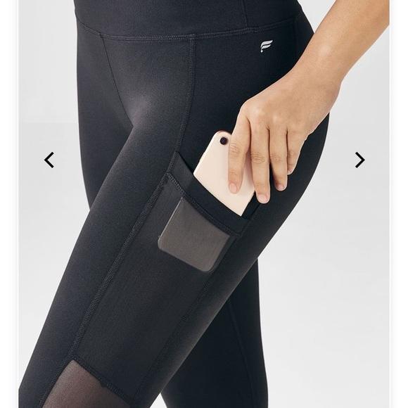 caca2f39a7a56 Fabletics Pants - Fabletics Mia pocket Capri leggings w/mesh sides